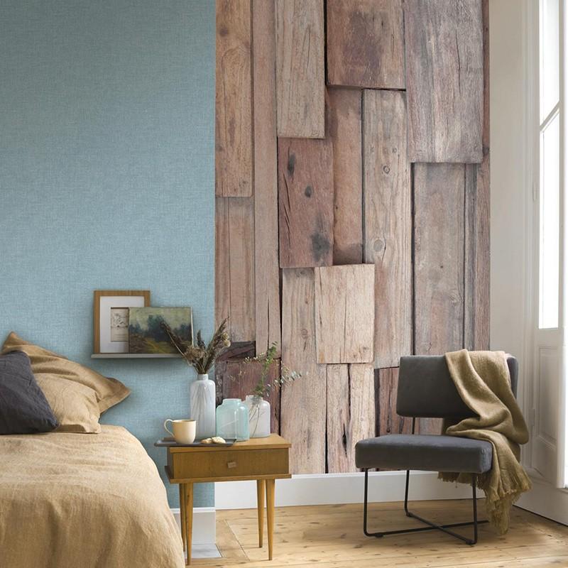 Mural Casadeco Beauty Full Image Wood Natural BFIM85001405
