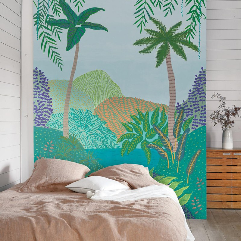 Mural Casadeco Beauty Full Image Peacefull Heaven BFI101557422