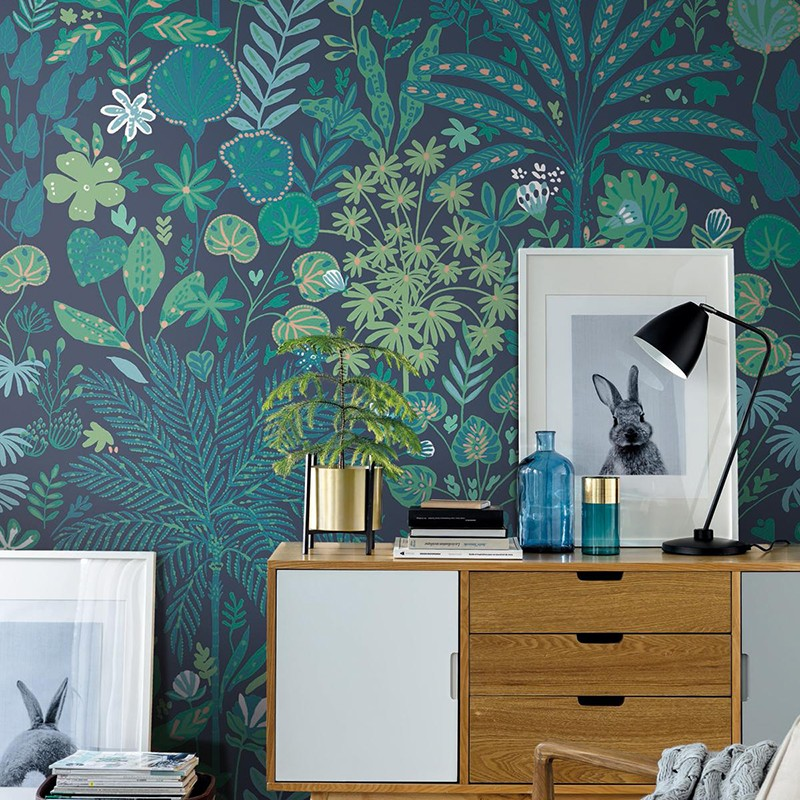 Mural Casadeco Beauty Full Image Tropical Move BFI101527822