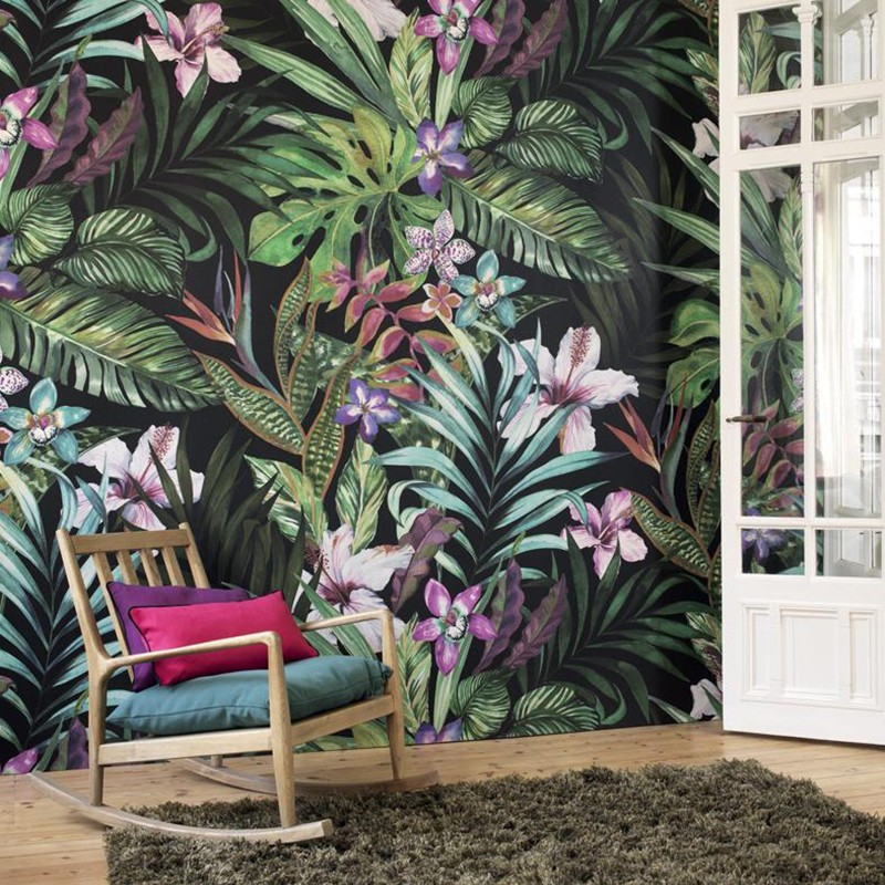 Mural Casadeco Beauty Full Image Jardin Tropical BFIM81347235