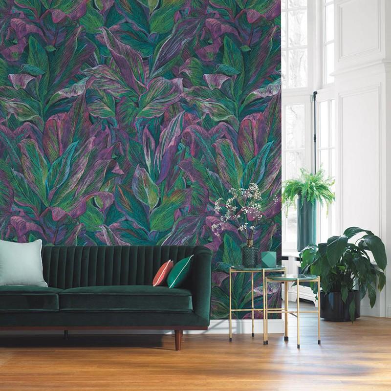 Mural Casadeco Beauty Full Image Foliage BFIM84827517