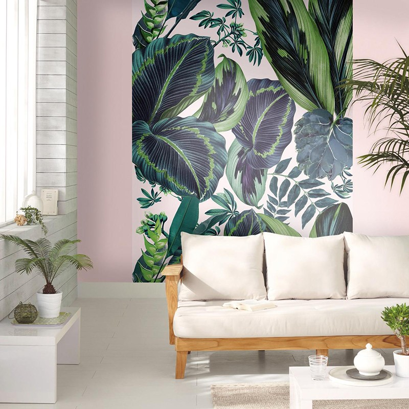 Mural Casadeco Beauty Full Image The Pink Jungle BFI100197812