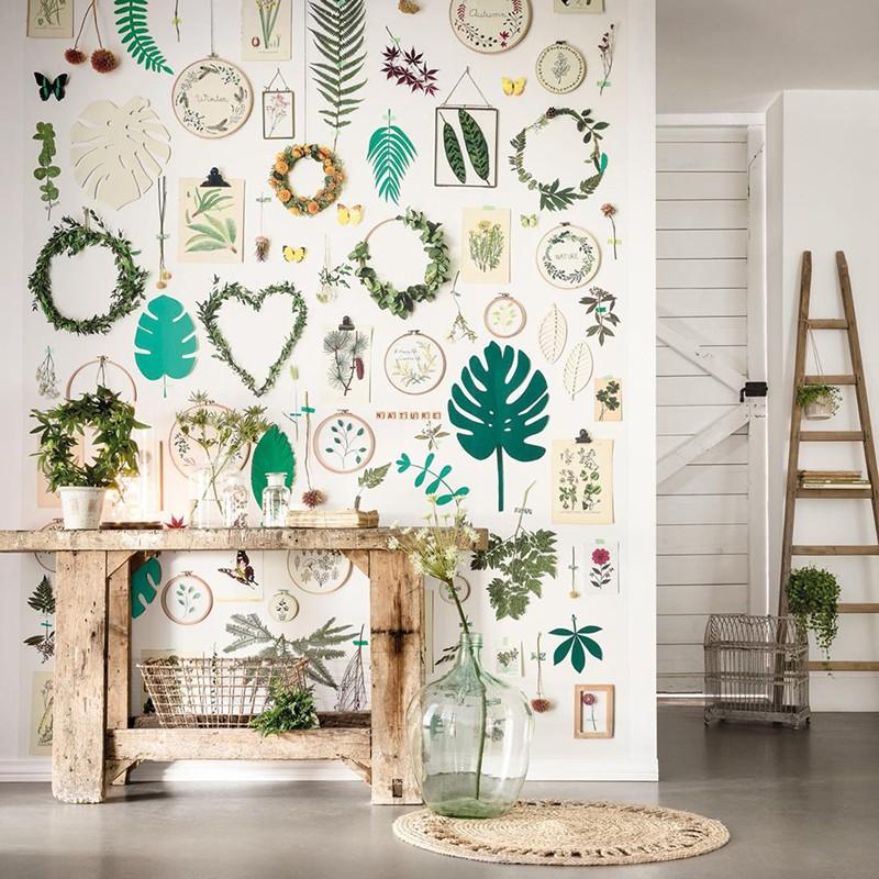 Mural Casadeco Beauty Full Image La Vie en Green BFI100294537