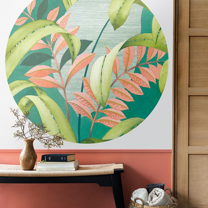 Mural Casadeco Beauty Full Image Botanica Circle BFIM84817310