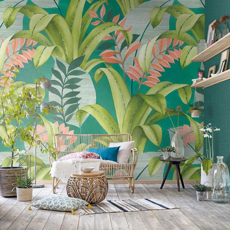 Mural Casadeco Beauty Full Image Botanica BFIM84807318