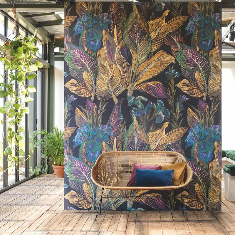 Mural Casadeco Botanica Iris BOTA85952367