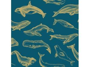 Papel Pintado Caselio Sea You Soon Whale Done SYO102796203