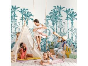 Mural Casadeco Beauty Full Image 2 Jungle Enchantée BFM102436060