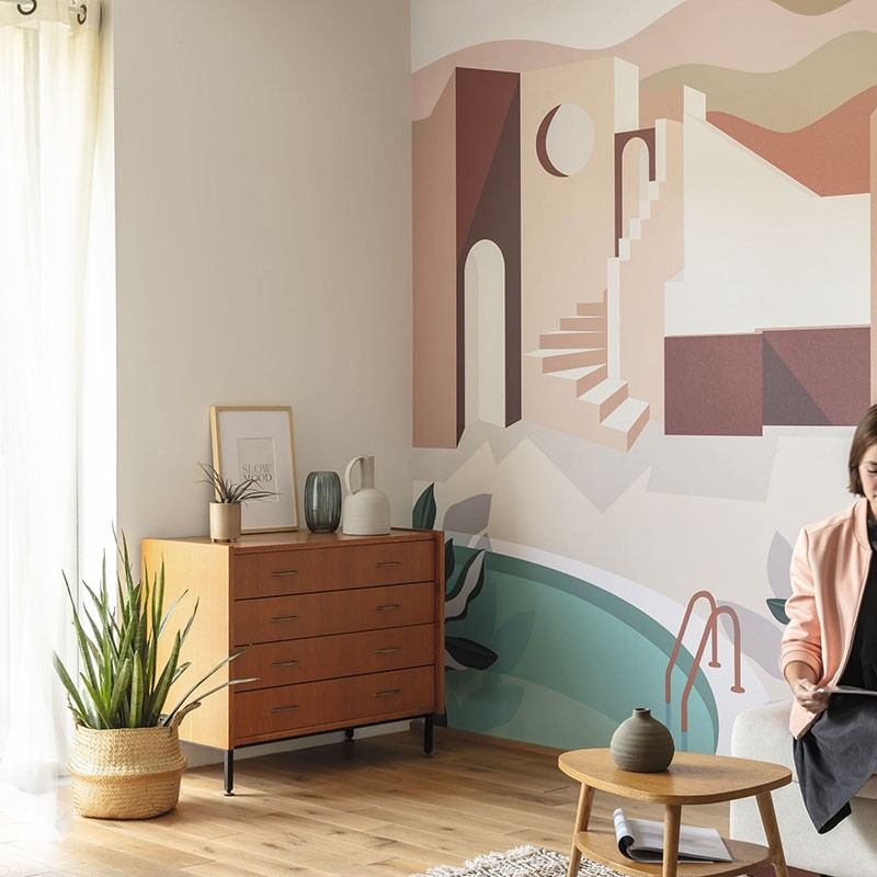 Mural Casadeco Beauty Full Image 2 Archways BFM102144044