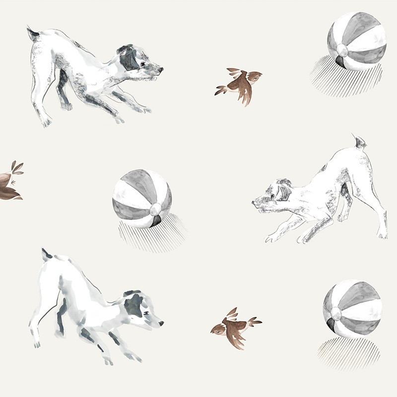 Papel Pintado AtelierWall Collection 2021 Playful Pets A20 002