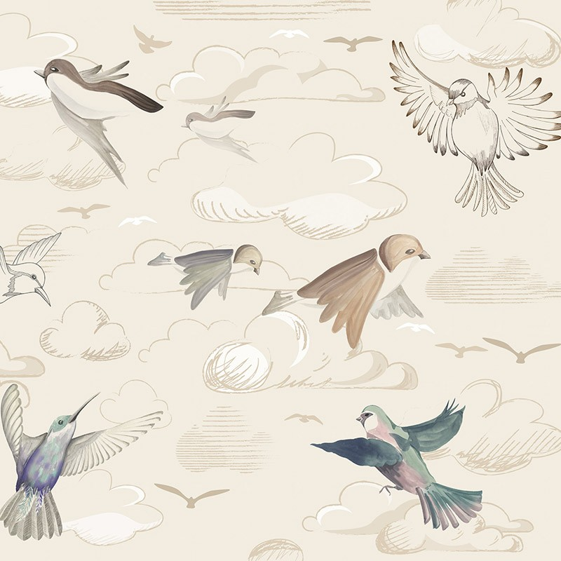 Papel Pintado AtelierWall Collection 2021 Flying Freedom Sunset A20 008