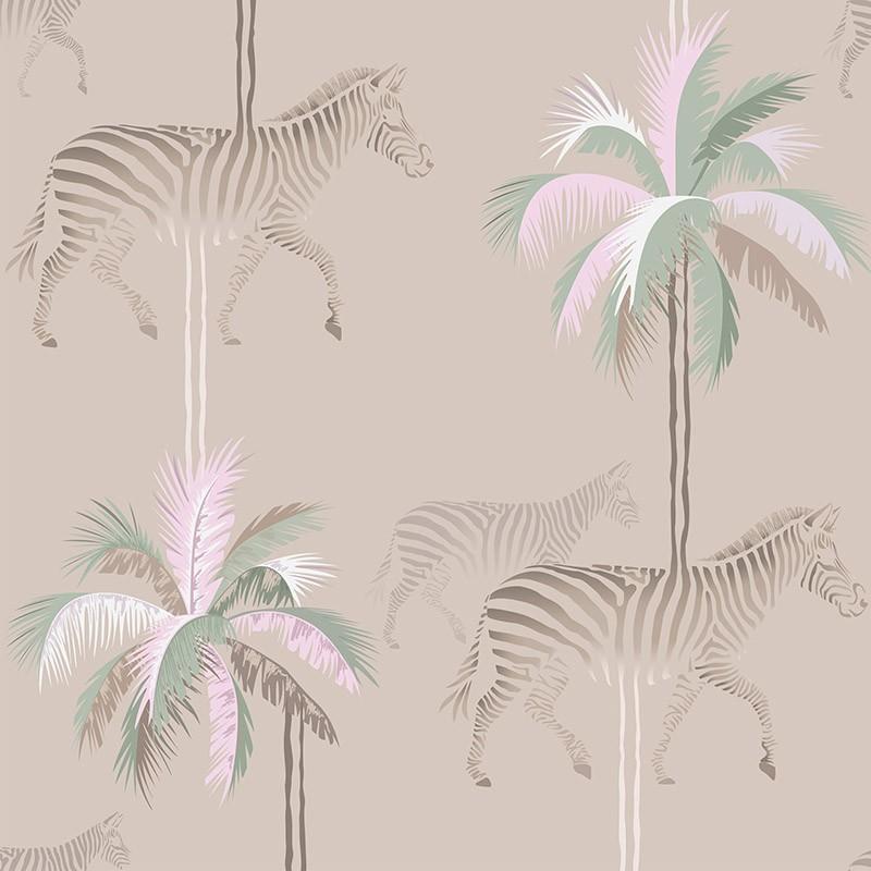 Papel Pintado AtelierWall Collection 2021 Zebra Party A20 014