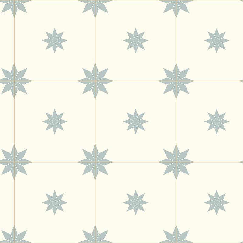Papel Pintado Caselio Only Blue Trendy Tiles ONB102716026