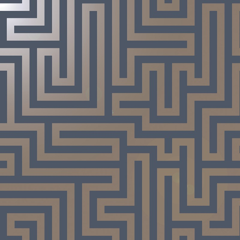 Papel Pintado Holden Indulgence Glistening Maze 12913