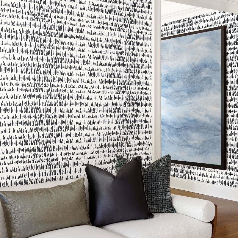 Papel pintado Wallquest del Catálogo Living With Art LW51800