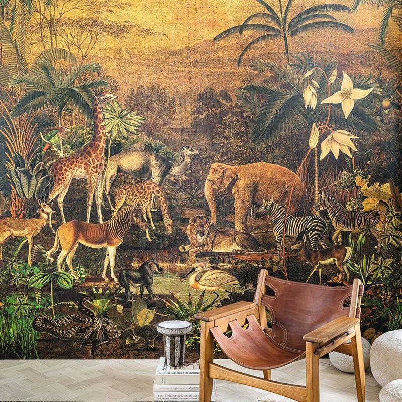 Mural Casamance Panoramas Tanzania 74971732
