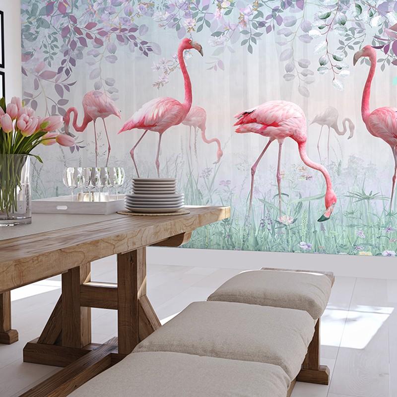 Mural decorativo PD Essentials Flamingo PD-752-019