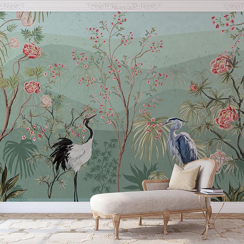 Mural decorativo PD Essentials Oriental Blooming PD-752-005