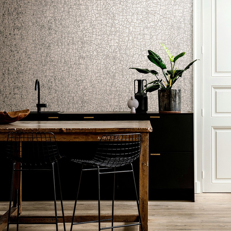 Papel pintado Arte Wallcoverings Cameo Emaille 66020