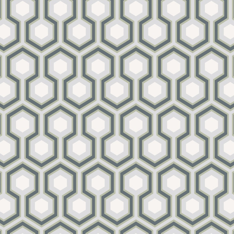 Papel pintado Cole & Son The Contemporary Selection Hicks Hexagon 66-8055