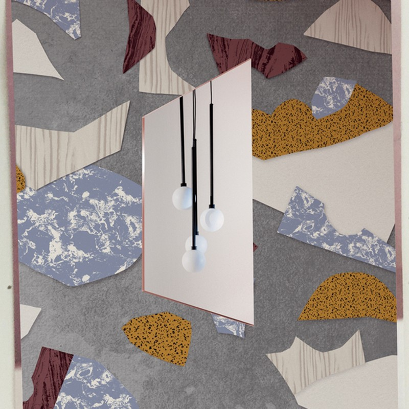 Mural Wall&Decò 2020 Fall to pieces WDFP2001