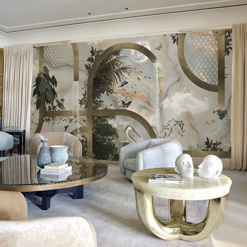 Mural Muance Collection 3 Amber Classic Gold MU13001