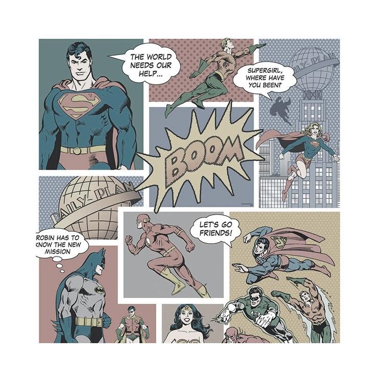 Papeles Pintados Comics & More DC 9002-2