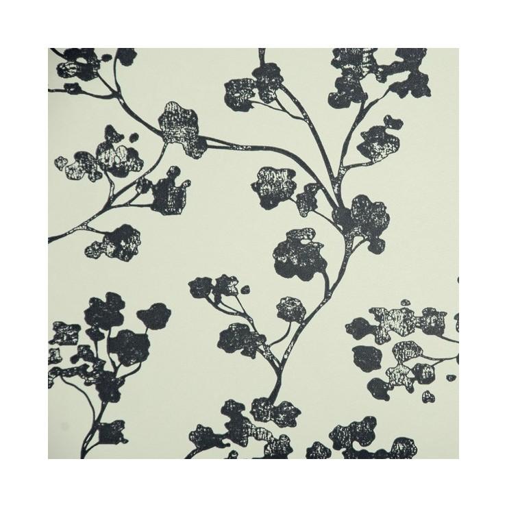 Papel Pintado Imperial Kew Baltic Charcoal
