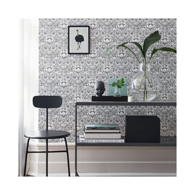 Papel Pintado Eco Black & White 6086 A