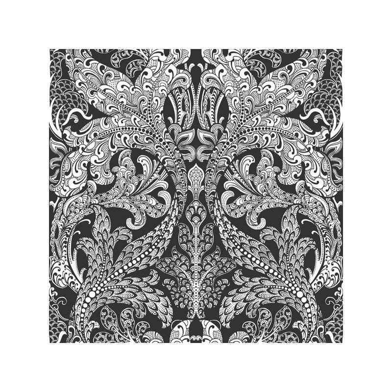 Papel Pintado Eco Black & White 6089