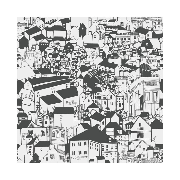 Papel Pintado Eco Black & White 6091