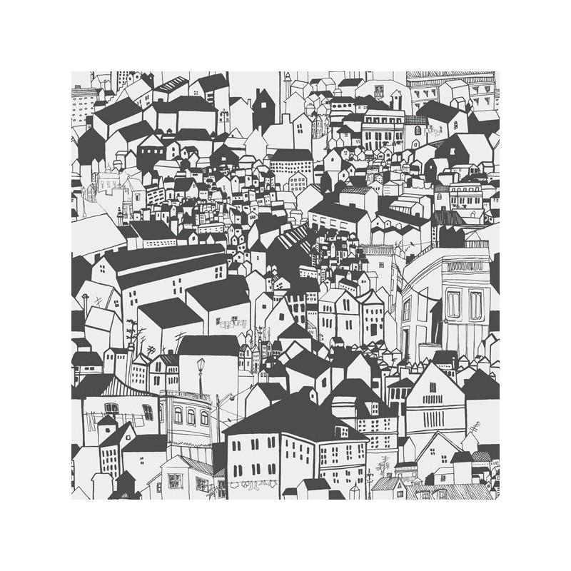 Papel Pintado Eco Black & White 6091