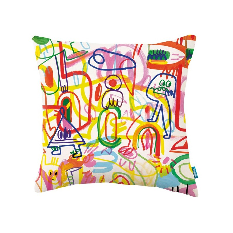 Cojín Kirkby Design x Jon Burgerman KDC5135-01 A