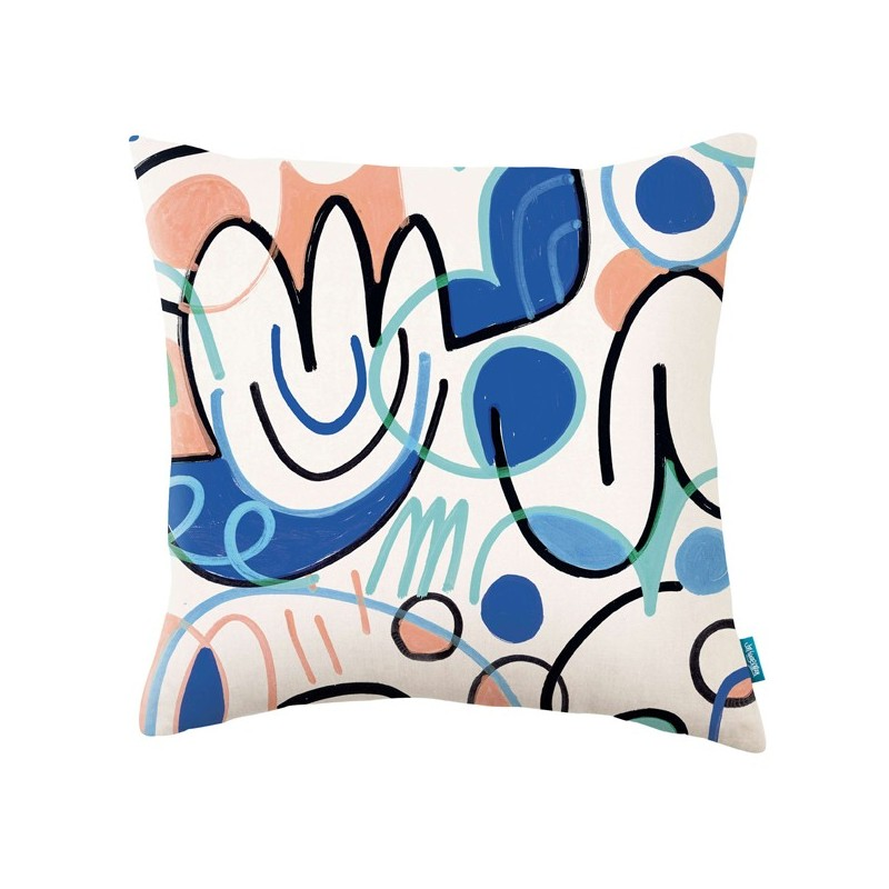 Cojín Kirkby Design x Jon Burgerman KDC5136-02 A