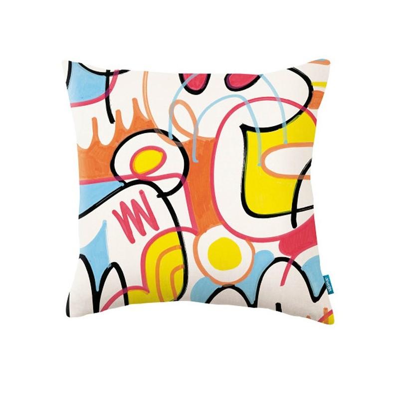 Cojín Kirkby Design x Jon Burgerman KDC5136-01