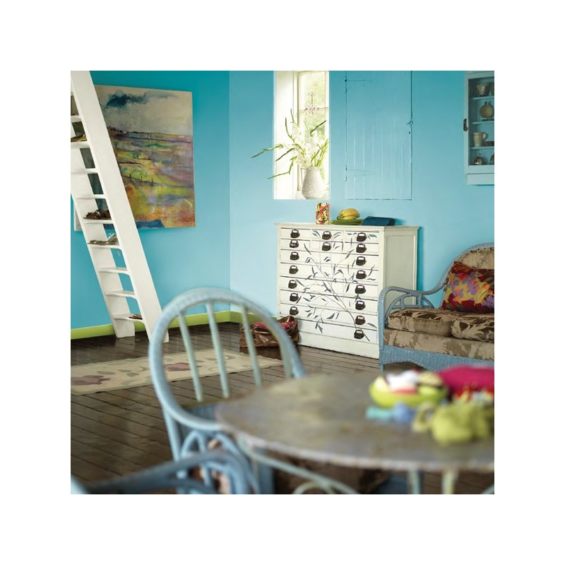 Pintura plastica de interior bruguer colores del mundo for Pintura color turquesa
