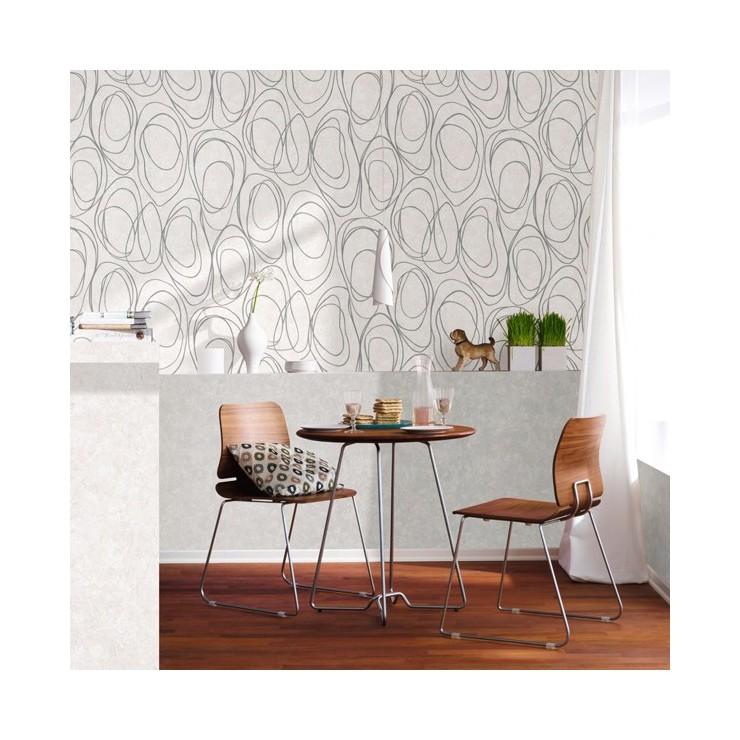 Salones papel pintado awesome pared salon con papel - Papel pintado salones ...