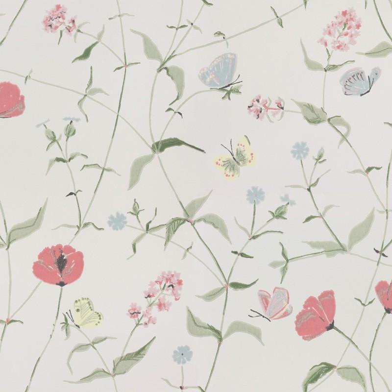 Papel pintado flora sandbergica papeles para empapelar for Papeles vinilicos para empapelar