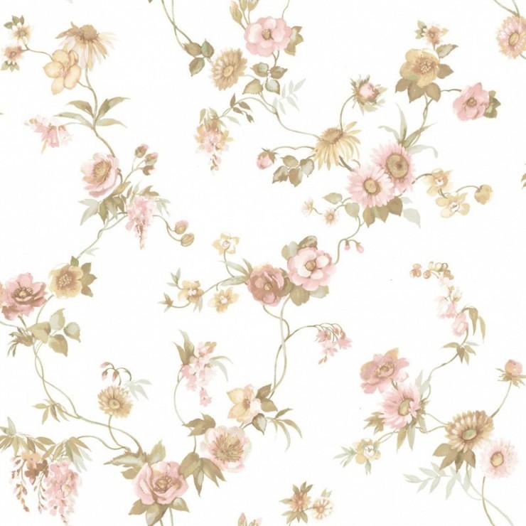 Papel pintado cristiana masi blooming garden papeles para - Papeles decorativos pared ...