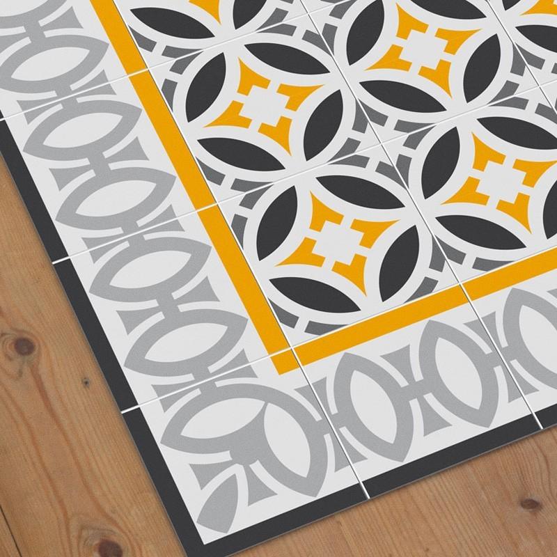 Alfombra vinilica hidraulik decoracion habitaciones - Alfombra vinilo cocina ...