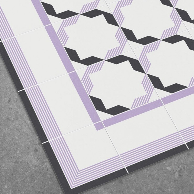 Alfombra vinílica Hidraulik Diagonal CM1530