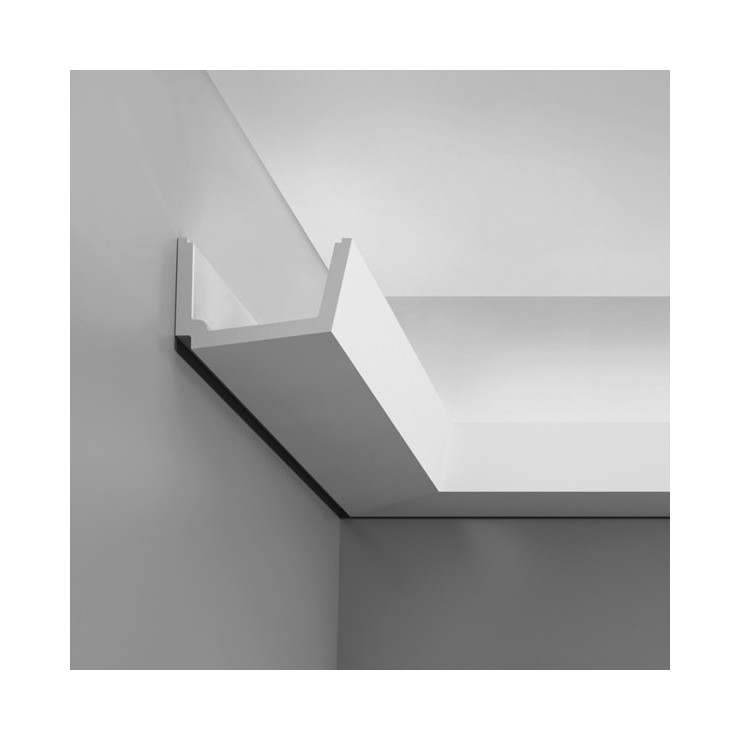 Orac Decor Cornisa Iluminación Indirecta Luxxus C357 Straight
