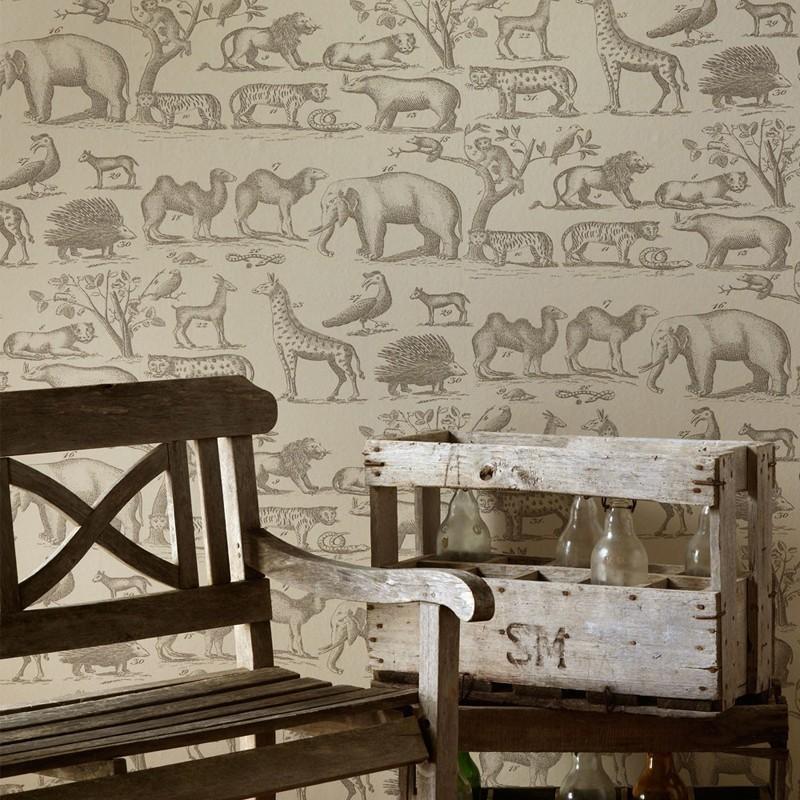Papel pintado andrew martin museum papel para empapelar for Papel para empapelar habitaciones