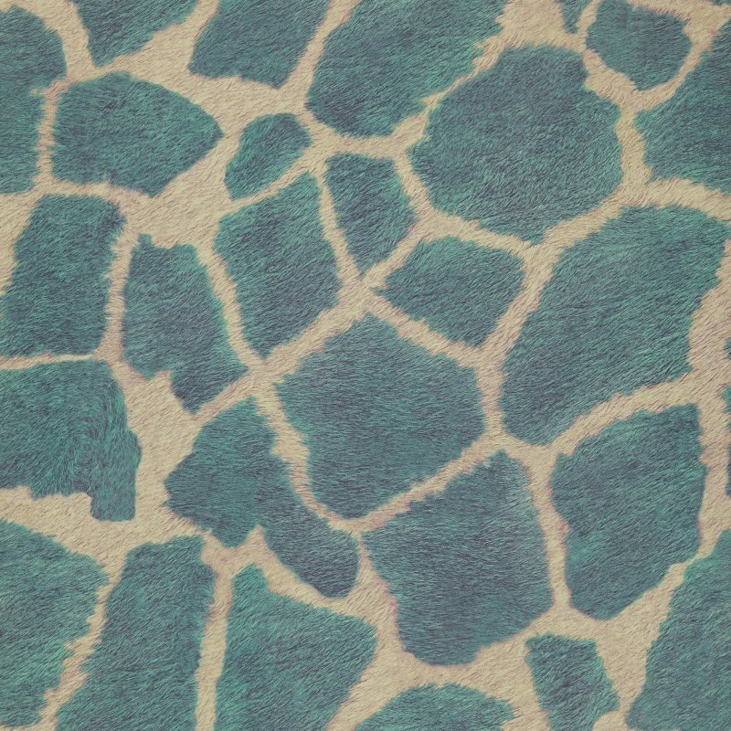 Papel Pintado Covers Wallcovering Jungle Club Zarafa 44 Turquoise
