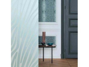 Papel Pintado Covers Wallcovering Jungle Club Damara 48 Aqua A