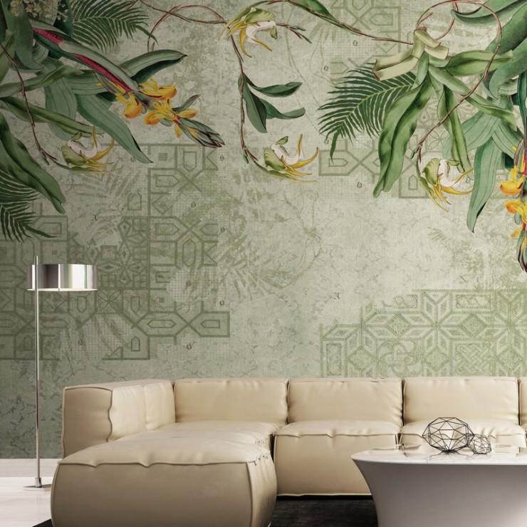 Mural Decorativo Tres Tintas Silk Road M2212 A