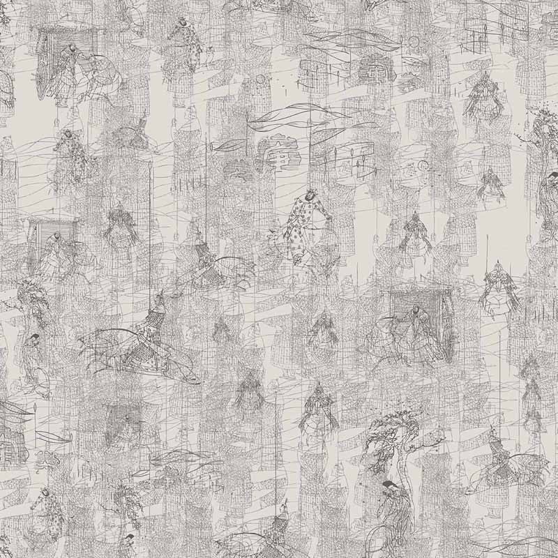 Papel Pintado Tres Tintas Silk Road 2205-4