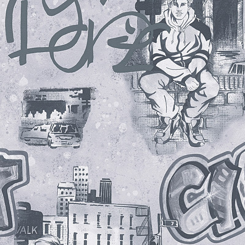 Papel Pintado As Creation Boys & Girls 30468-1