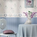 Papel Pintado Fiori Country 2516