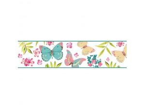 Cenefas florales decorativas para decoraci n de paredes - Cenefas decorativas para imprimir ...